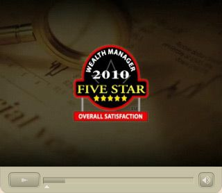 2010 Five Star Wealth Manager Award